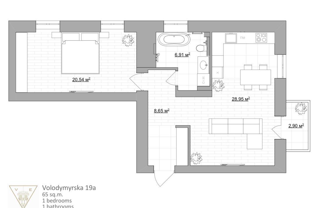 plan vladimirskaya
