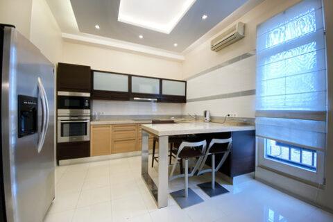 fridge and oven