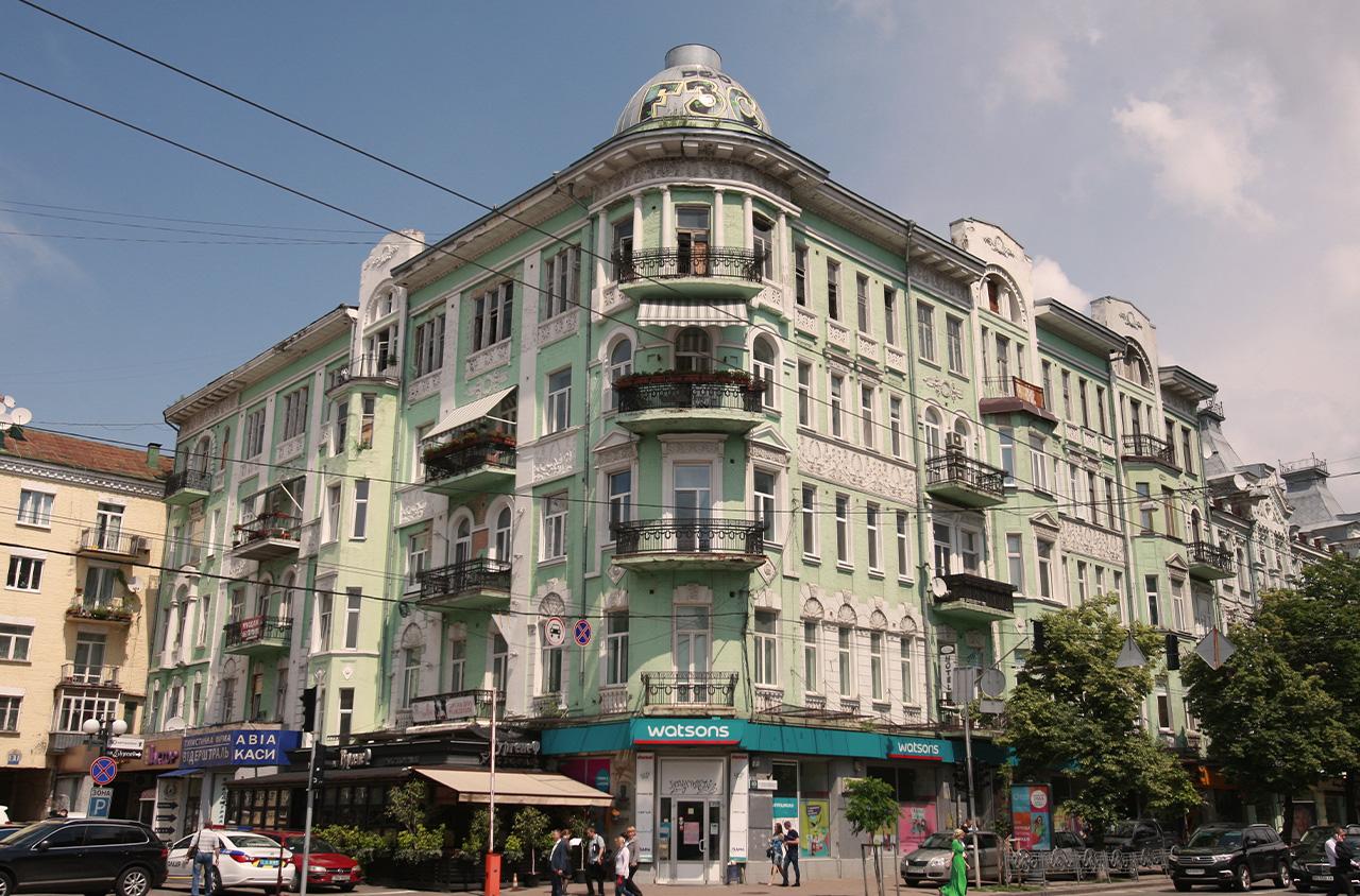 historic building kiev kyiv