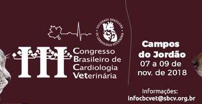 III Congresso Brasileiro de Cardiologia Veterinária