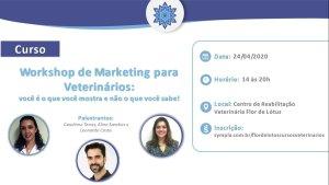 Workshop de marketing para veterinários: você é o que você mostra e não o que você sabe!