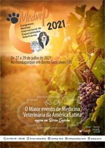 Congresso Medvep Internacional de Especialidades Veterinárias 2021 - De 27 a 29 de Julho de 2021 em Bento Gonçalves | RS