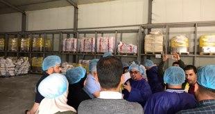 زيارة علمية لطلبة المرحلة المنتهية لشركة كوسار للانتاج الحيواني في محافظة اربيل