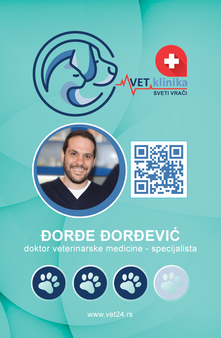 Đorđe Đorđević - doktor veterinarske medicine - specijalista