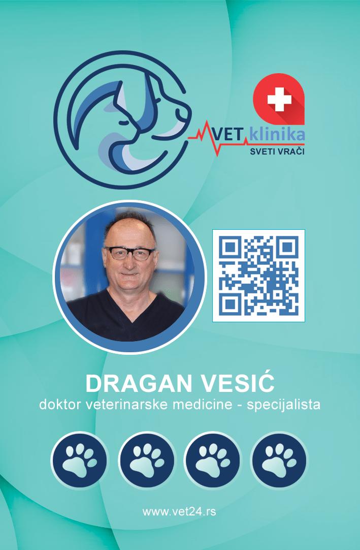 Dragan Vesić - doktor veterinarske hirurgije - specijalista