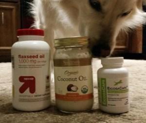 coconut oil, omega fatty acid