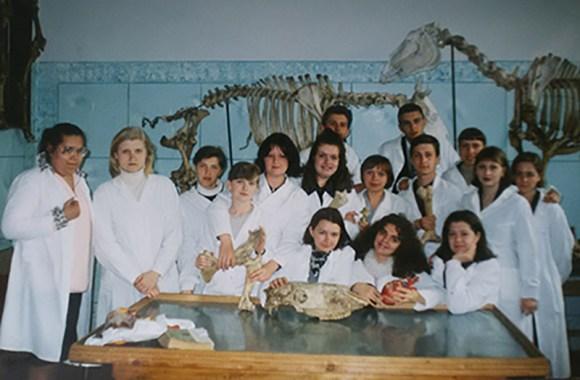 анатомия у студентов