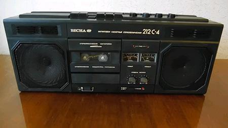 кассетный магнитофон Весна