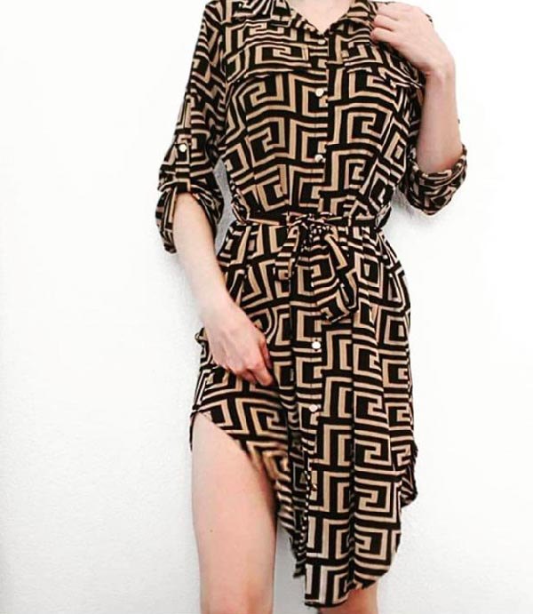 Une belle jupe la tunique Véronique pour femme dans votre boutique de prêt à porter de Toulouse