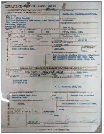 Official Military Personnel File