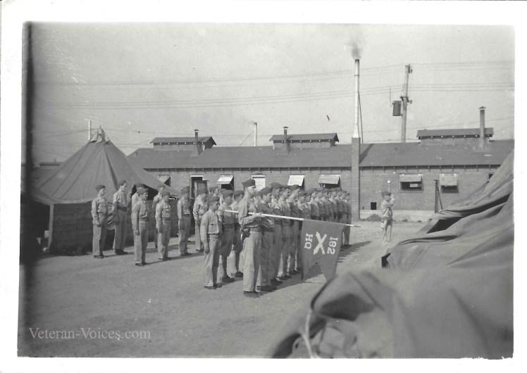 Ellery Joseph Lynn at Fort Knox.