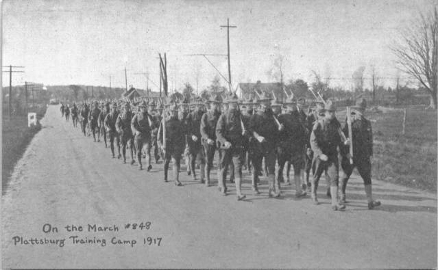Plattsburgh Barracks 1917