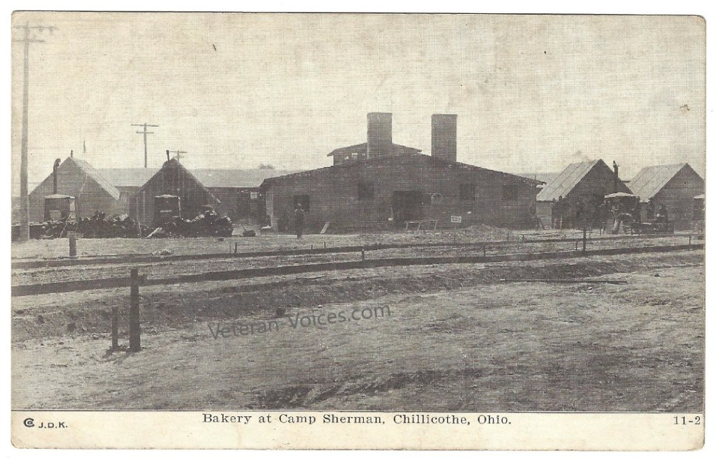 Bakery at Camp Sherman, 1917