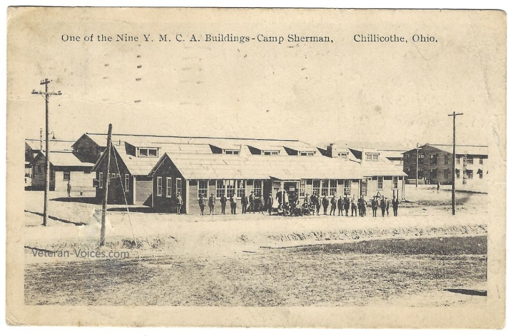 YMCA Building at Camp Sherman, 1918