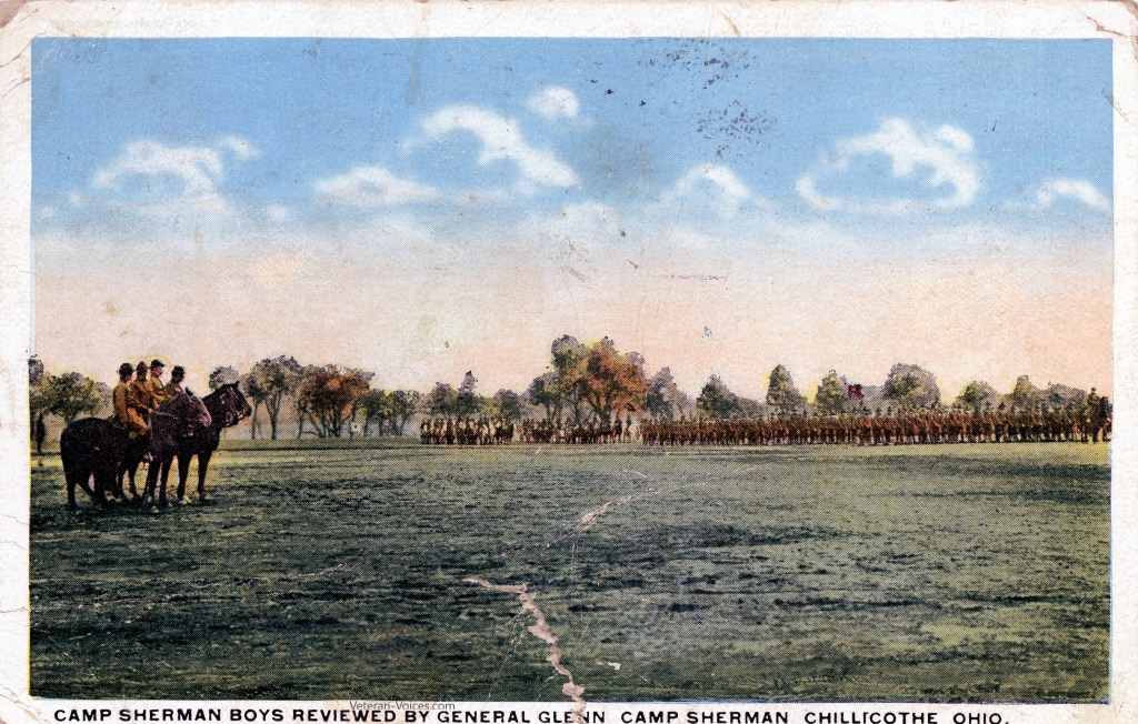 Review of the Troops at Camp Sherman