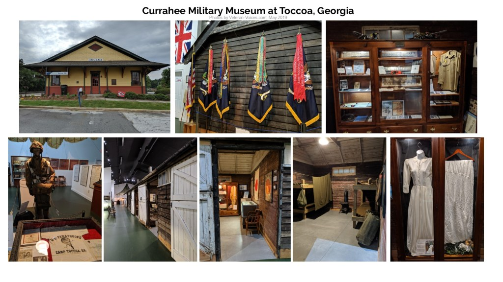 Currahee Military Museum at Toccoa, Georgia