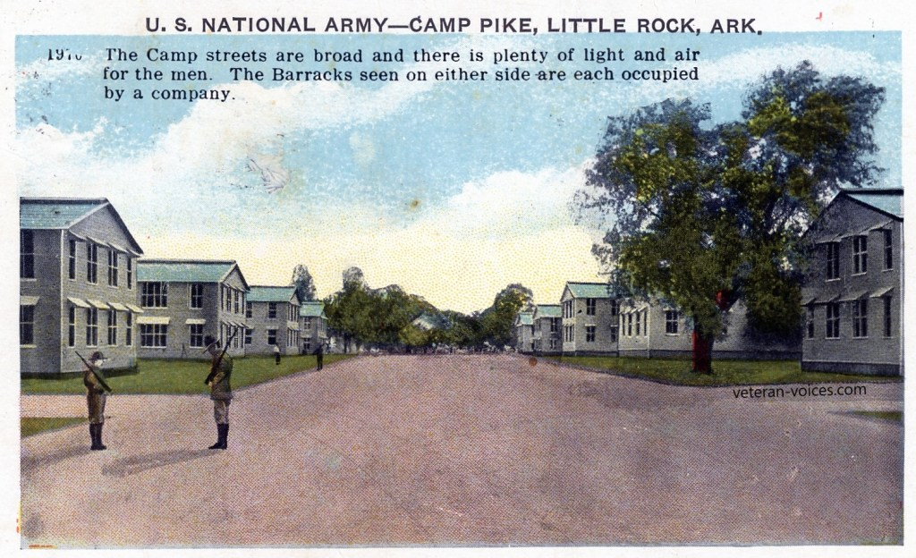 Camp Street at Camp Pike, Little Rock, Arkansas