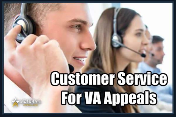 Customer Service For VA Appeals