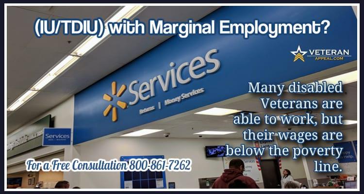 IU-TDIU with Marginal Employment