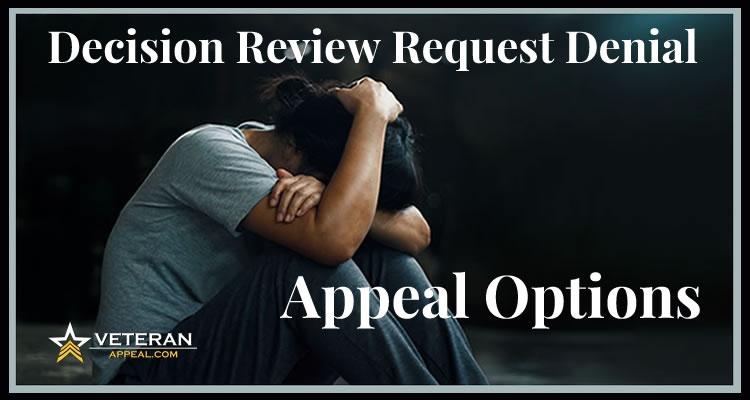 Decision Review Denial