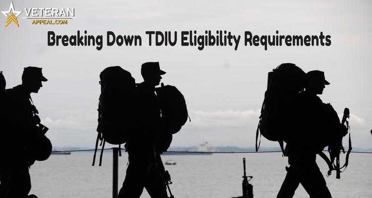 TDIU eligibility requirements