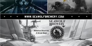 SeaWolf Brewing Craft Beer Navy Seals
