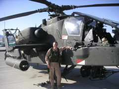 Don Bentley Apache Helicopter Pilot