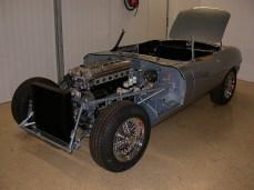 Jaguar E-Type Motorraum