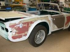 Karosseriearbeiten Triumph TR