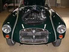 MG A Motorraum
