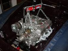 MG B GT V8 Motorausbau
