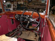 Rechtslenker Prewar Cockpit