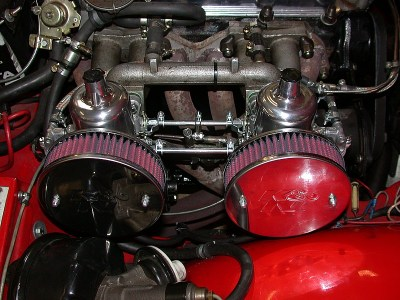 SU Vergaser Triumph TR