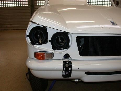 Triumph Vitesse Front Detail