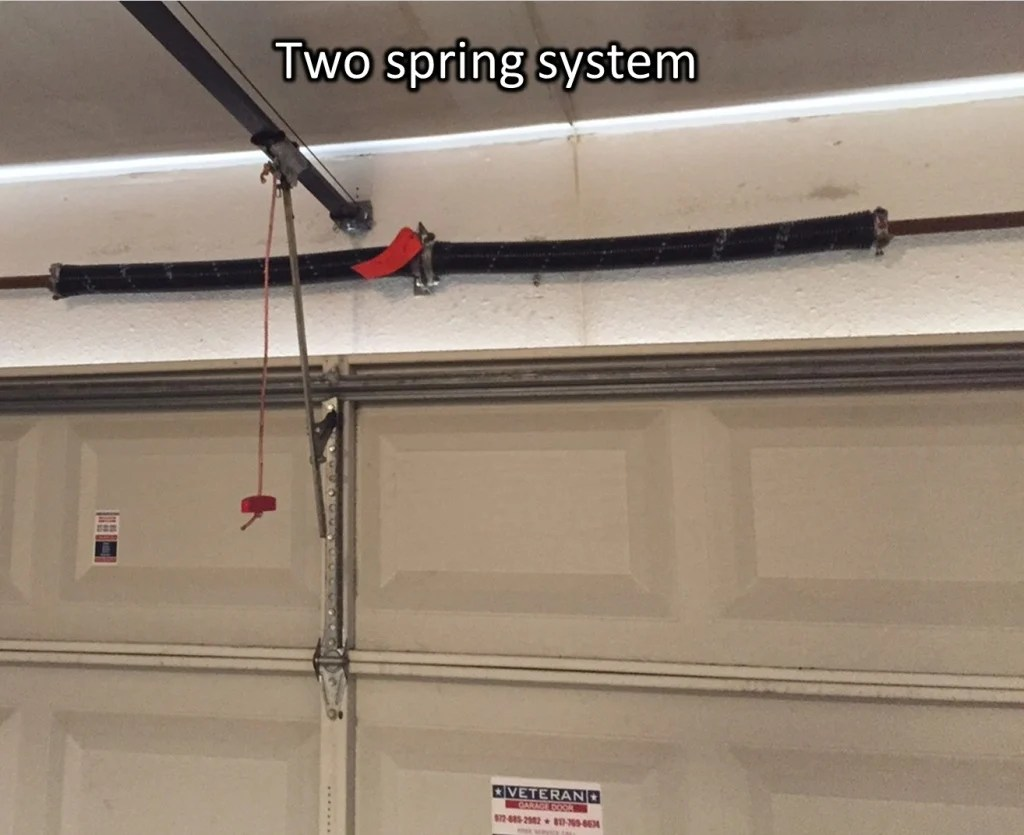 what's the cost to replace garage door torsion springs? on Overhead Garage Door Spring Replacement  id=75149