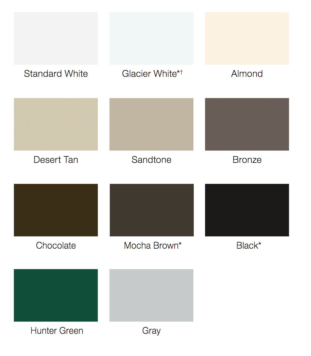 What Standard Colors are Available for Garage Doors? on Garage Door Colors Pictures  id=83562