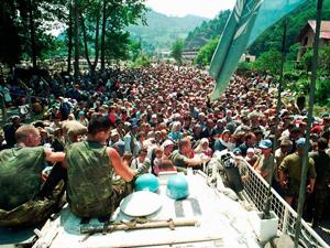 srebrenica vojska narod
