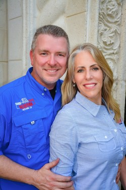 Mark and Cara Weber, Owners of Veteran Moving Company Pompano Beach Florida