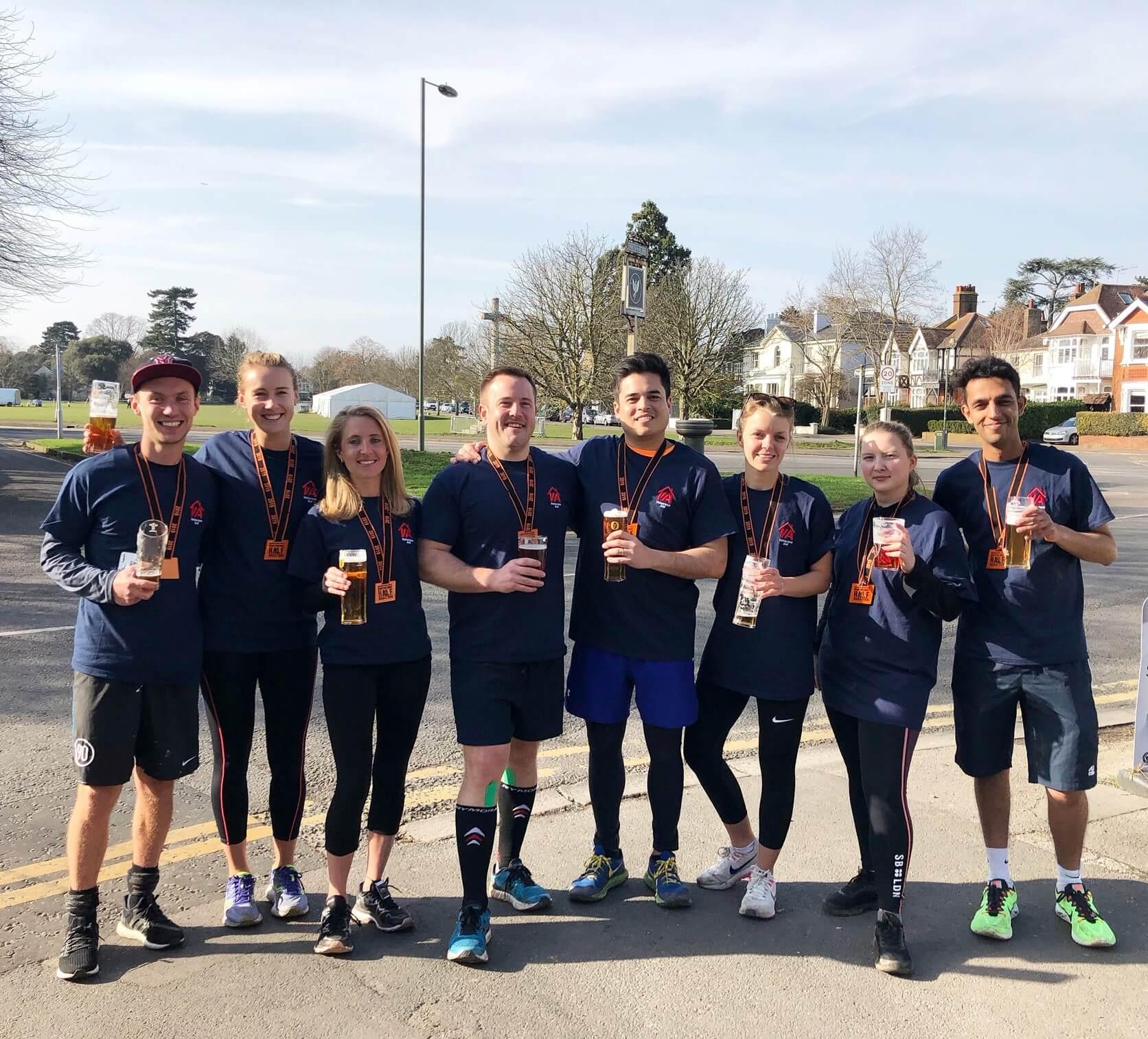 D&G Hampton Court Half Marathon