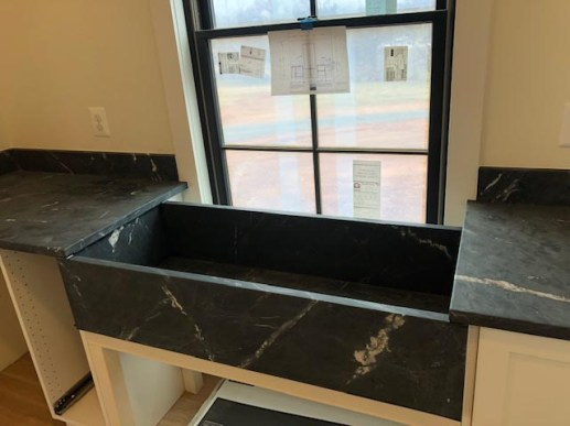 New Black Counter Top