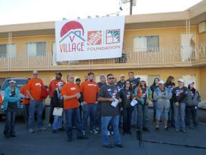 Veterans Village Home Depot Celebration of Service