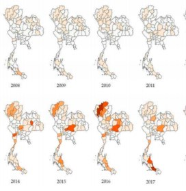 Epidemiology And National Surveillance System For Foot And Mouth Disease In Cattle In Thailand During 2008–2019