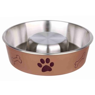 Slow Feeding Bowl 1 Litre Brown