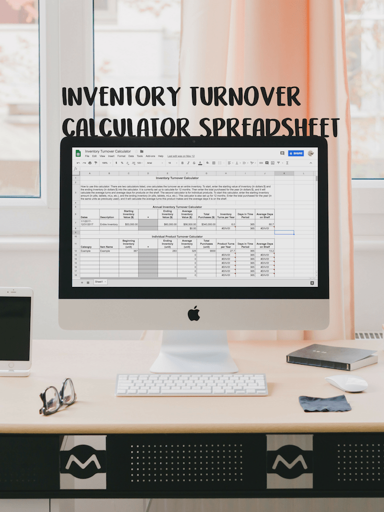inventory turnover calculator