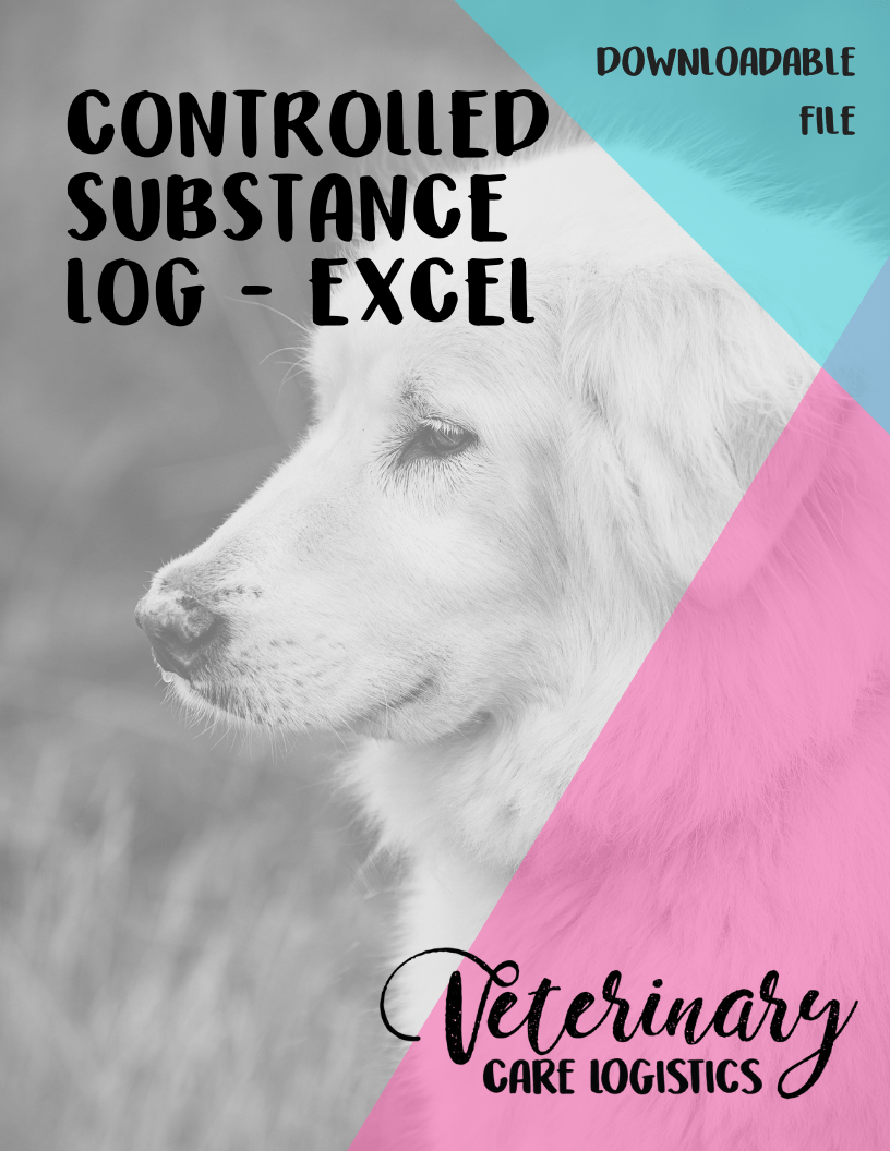 controlled substance log excel