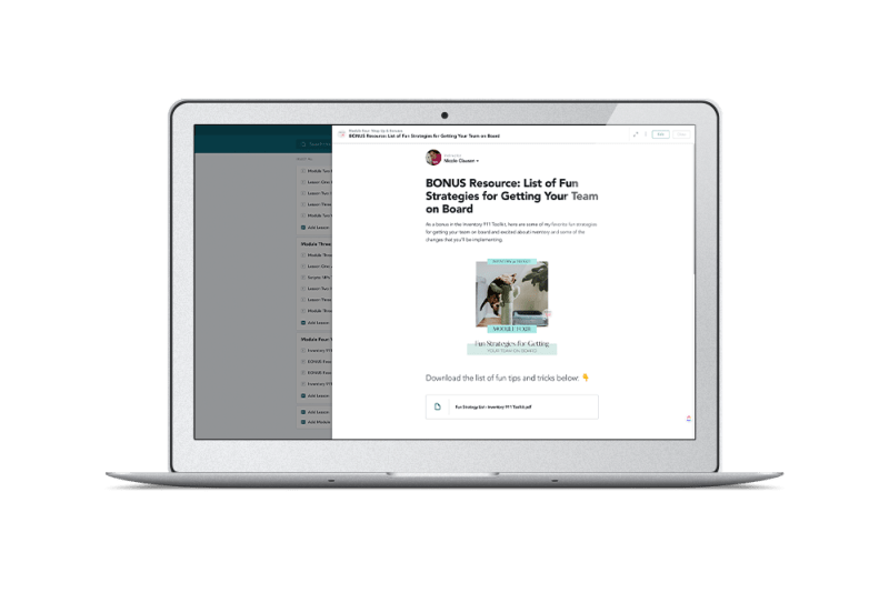 veterinary inventory management course