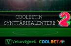 Coolbetin synttärikalenteri