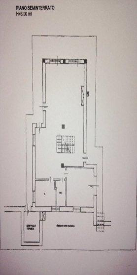 PLANIMETRIA GENZANO DI ROMA [PIANO SEMINTERRATO] (VILLA IN VENDITA)