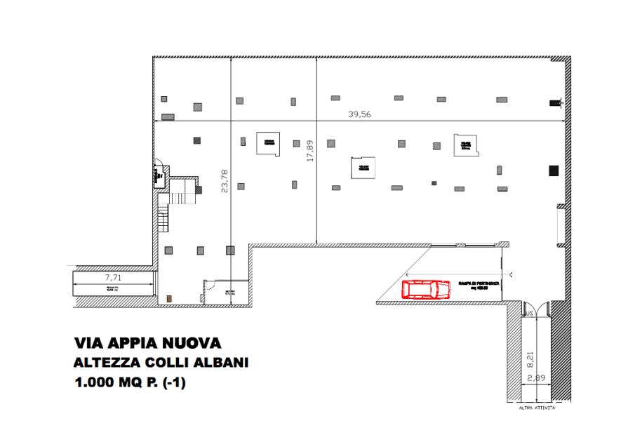 Affitto Locale Commerciale Via Appia Nuova Altezza Colli Albani Roma