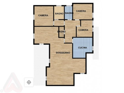Roma vendita appartamento Farnesina